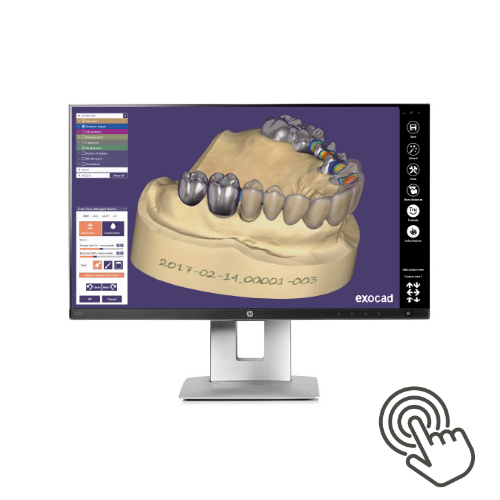 HP EliteDisplay mit Touchscreen