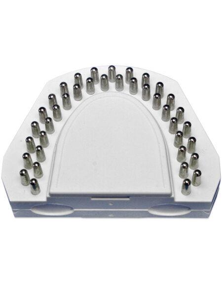 Pinbasisplatte inkl. Split-Cast-Platte und Magnet, Gr.2