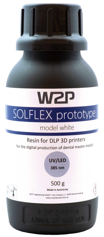 W2P SolFlex Prototype Model White