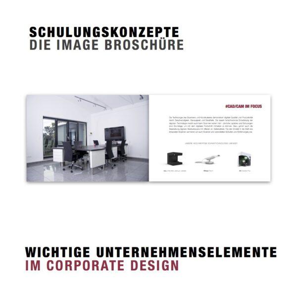 Image Broschüren (Design Entwicklung)