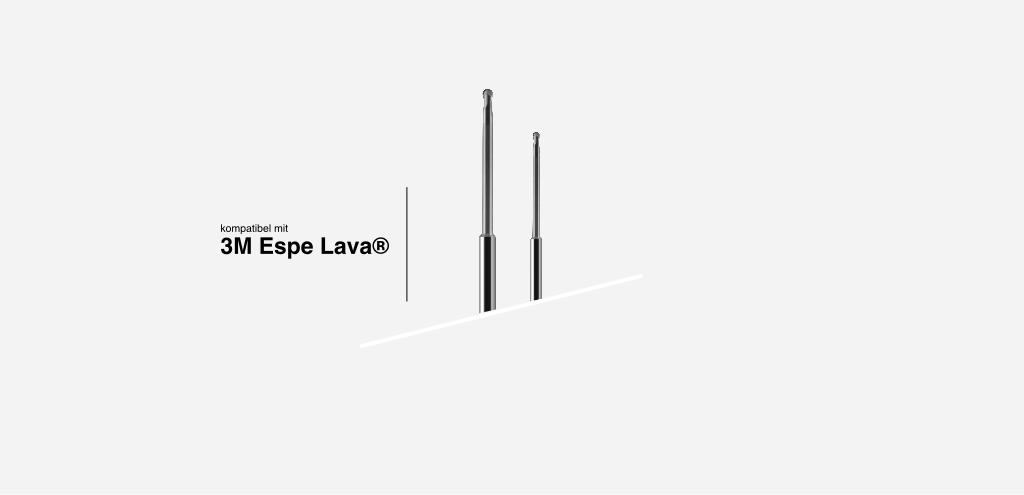 systemkompatibel mit 3M Lava® Frässysteme