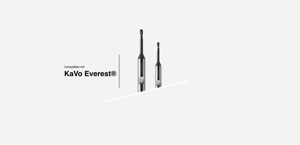 systemkompatibel mit KaVo Everest® Frässystem