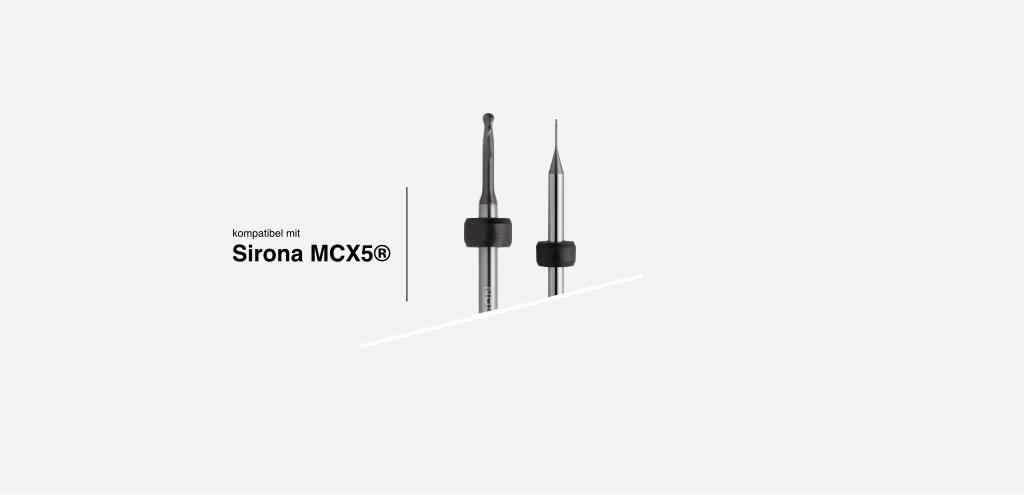 systemkompatibel mit Sirona® MCX5 Fräsystem