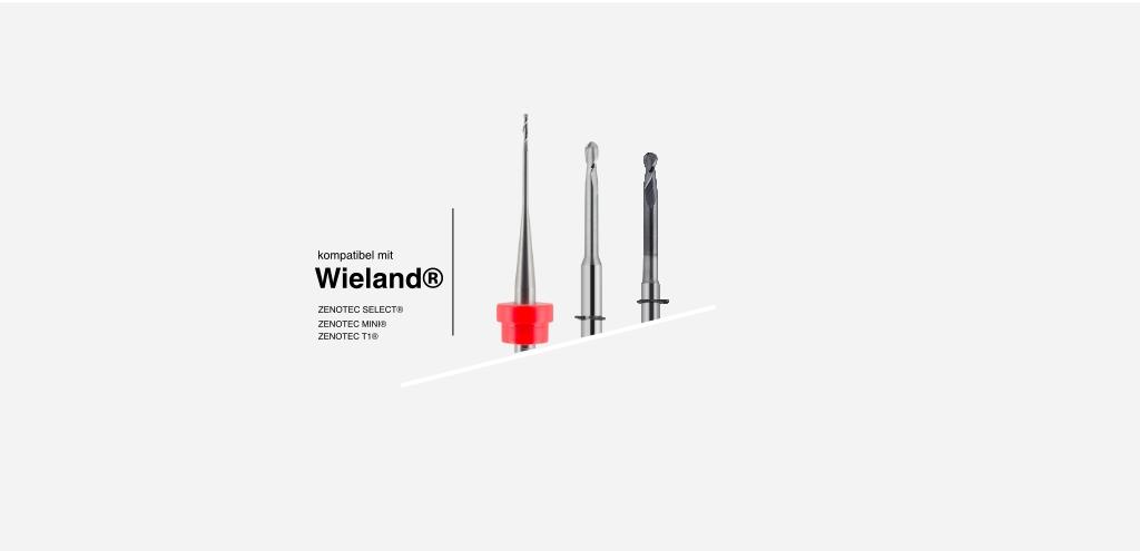 systemkompatibel mit WIELAND® Zenotec Frässysteme